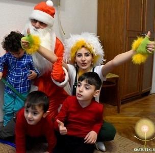 Поздравления Деда Мороза и Хатутик продолжаются!