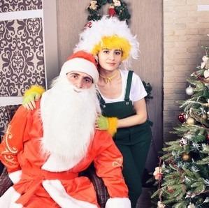 Дед Мороз и Хатутик поздравляют всех с наступившим 2017-м годом! :)