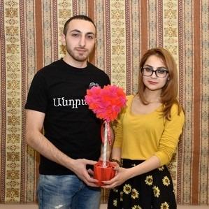 Посвященный дню любви праздник по армянским традициям в Санкт-Петербурге.
