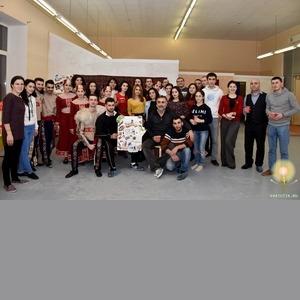 Петербургские армяне празднуют день любви 12.02.2017