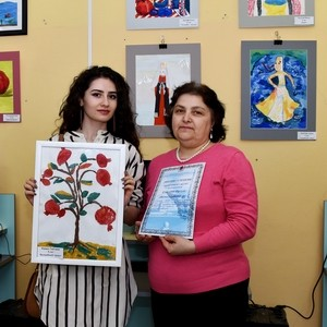 Награждение нашего маленького победителя в конкурсе «Сказки солнечной Армении»!