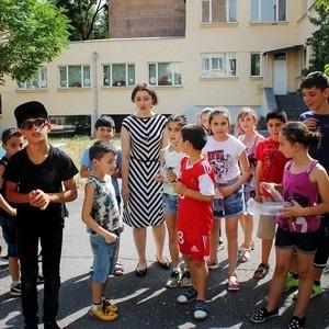 Фотографии с развивающих программ Хатутик в городе Ереван в дневном центре