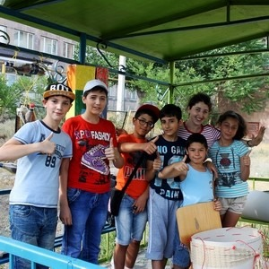 Немного о том, как Хатутик подарил свое тепло маленьким и взрослым в центре Шох в Армении