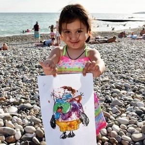 Хатутикцы на Черном море в Абхазии
