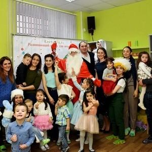 В развивающем центре для всей семьи «Хатутик» состоялся праздник