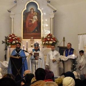 В Санкт-Петербурге армяне праздновали Рождество и Богоявление Иисуса Христа