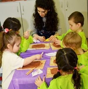 Развитие детишек методом глинотерапии