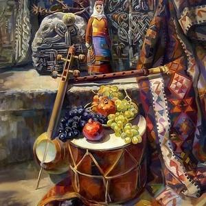 Вечер армянских народных песен «Канче Крунк» в Хатутик 24.06.2018