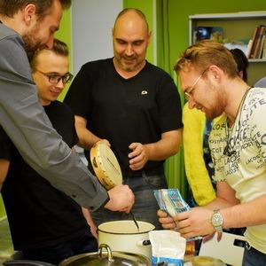 Минимакса в гостях у Хатутик - кулинарный мастер-класс IT отдела