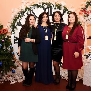 Хатутик на новогоднем мероприятии «Аманор-2019