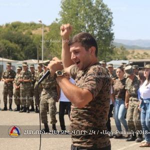 "Программа ""Нация-Армия-2018"" в Арцахе"