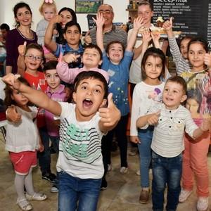 Ереванские пончики покорили сердца детей :)