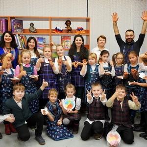 Хатутик в гостях у библиотеки-филиала №10 ЦБС Калининского района