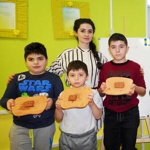 Учим армянский язык с помощью глины