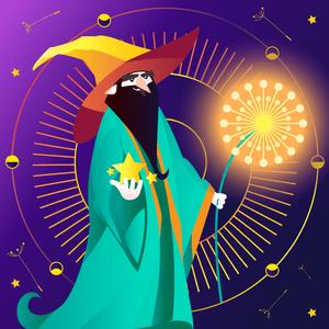 Корона-гороскоп от великого мага Хатутик