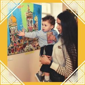 Открытие выставки «Мир для детей»