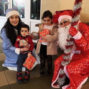 Новогоднее чудо для детей в городе Дилижан